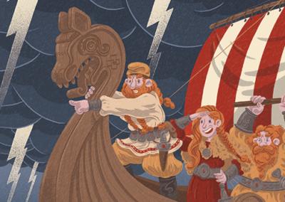 Vikings a Amèrika!